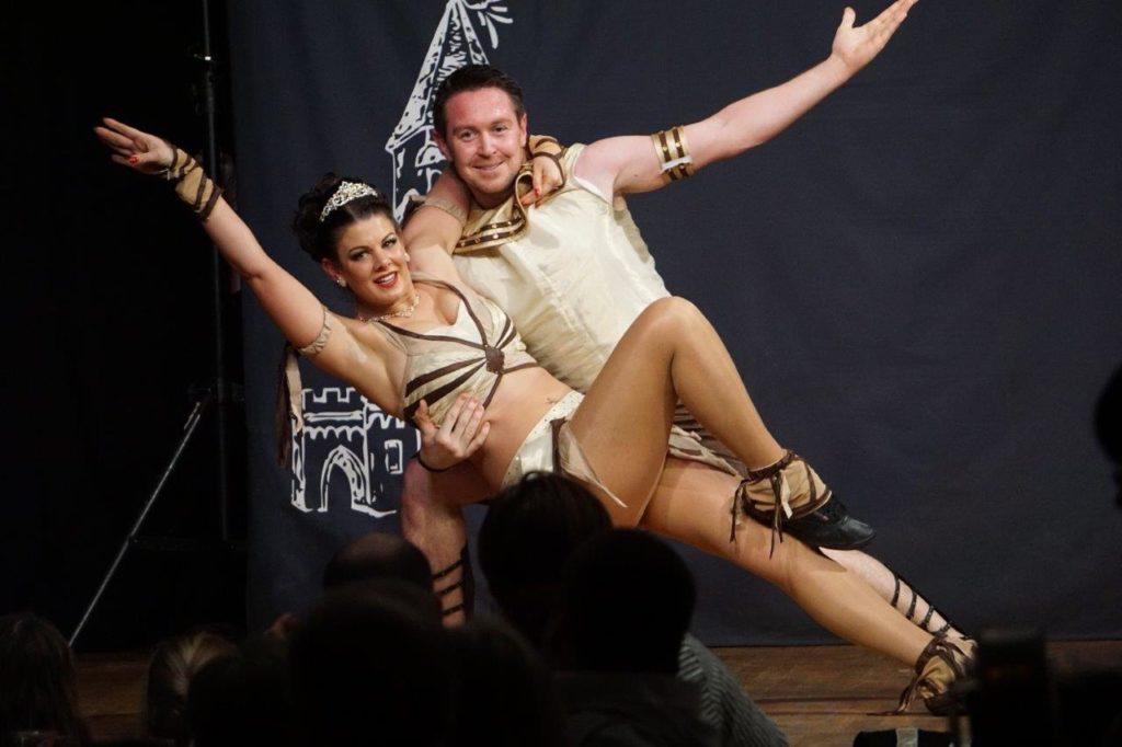 Prinz Ulrich I. und Prinzessin Daniela bei ihrem Showteil